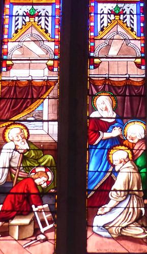 Saint Martin-de-Hinx, Landes: église Saint Martin