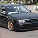 Black VW Golf Mk4 R32