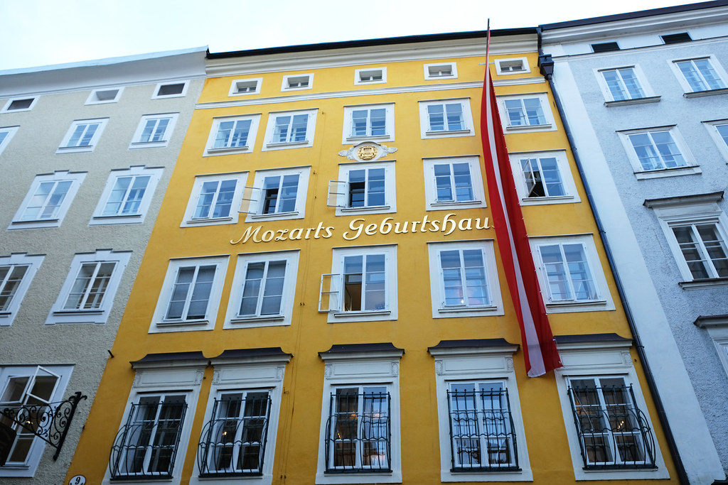 Mozart Museum, Salzburg, Austria