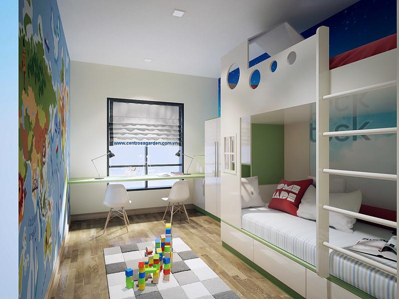 Phòng Baby đa sắc màu