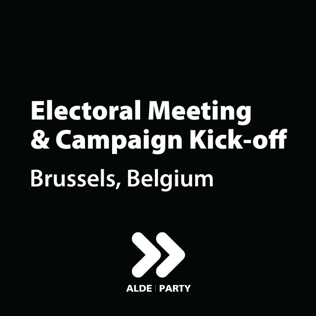 Electoral Meeting & Campaign Kick-off - Brussels 21.03.2019