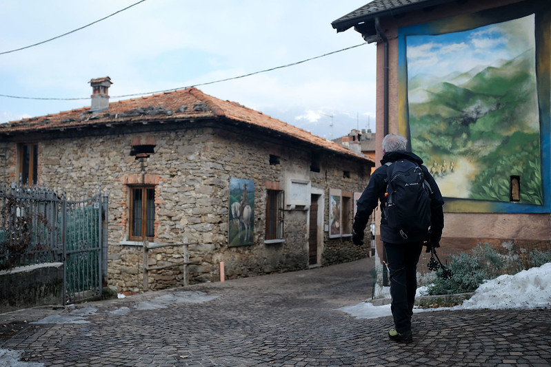 Parlasco, il borgo dipinto
