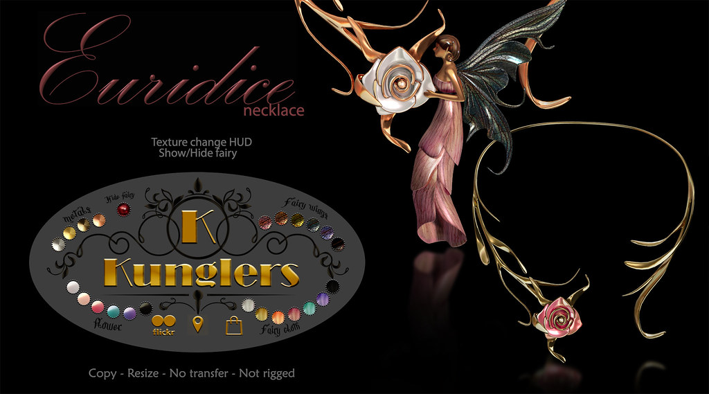 KUNGLERS – Euridice necklace