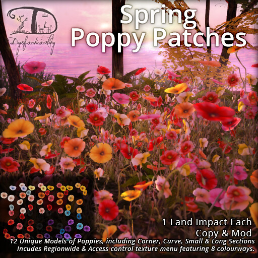 Spring Poppy Patches