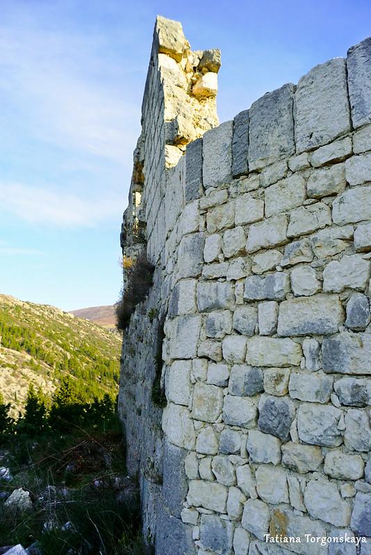 Стена  Верхнего города
