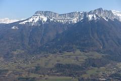 Dent du Cruet & Dents de Lanfon @ Viewpoint @ Summit of Mont Baret @ Hike to Mont Baret
