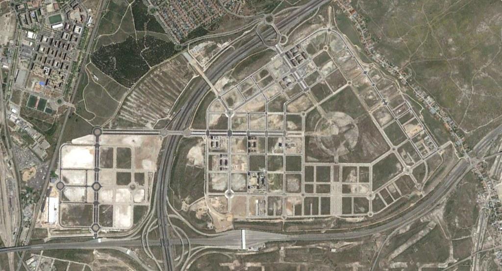 el cañaveral, madrid, desarrollos necesarisísisimos de Madrid, después, urbanismo, planeamiento, urbano, desastre, urbanístico, construcción, rotondas, carretera