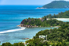 A glorious view Seychelles