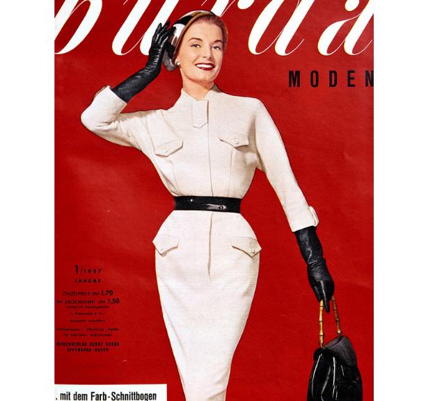 Retro Dress 1957 Pattern