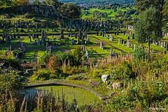 Le cimetière du château de Stirling