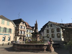 Eguisheim Fountain