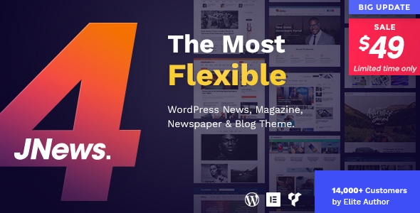 JNews v4.0.3 - WordPress Newspaper Magazine Blog AMP Theme