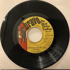 PAN HEAD:ORIGINAL GUN IN A HAND(RECORD SIDE-A)