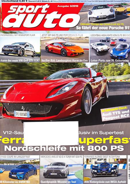 sport auto - 2019-03 - cover