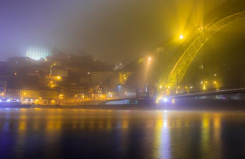 Mist at midnight