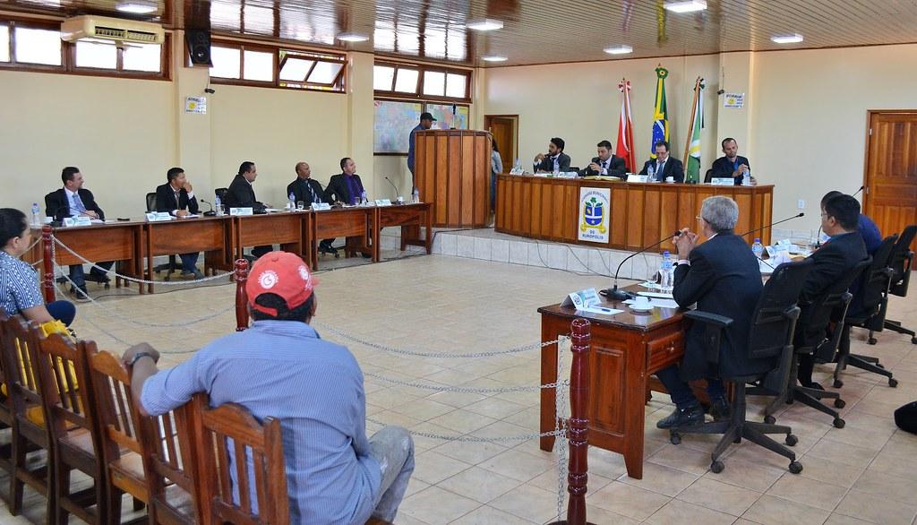PRB indica vereador do PT para líder do partido na Câmara de Rurópolis, Plenário da Câmara de Vereadores de Rurópolis