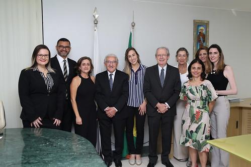 18-03-2019 - Comissão de Medicina Veterinária Legal (CONMVL) recebe visita das coordenadoras das ações de resgate de fauna em Brumadinho/MG