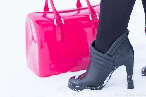 Calvin Klein nilkkurit, Furlan candy laukku, Furla Candy Bag
