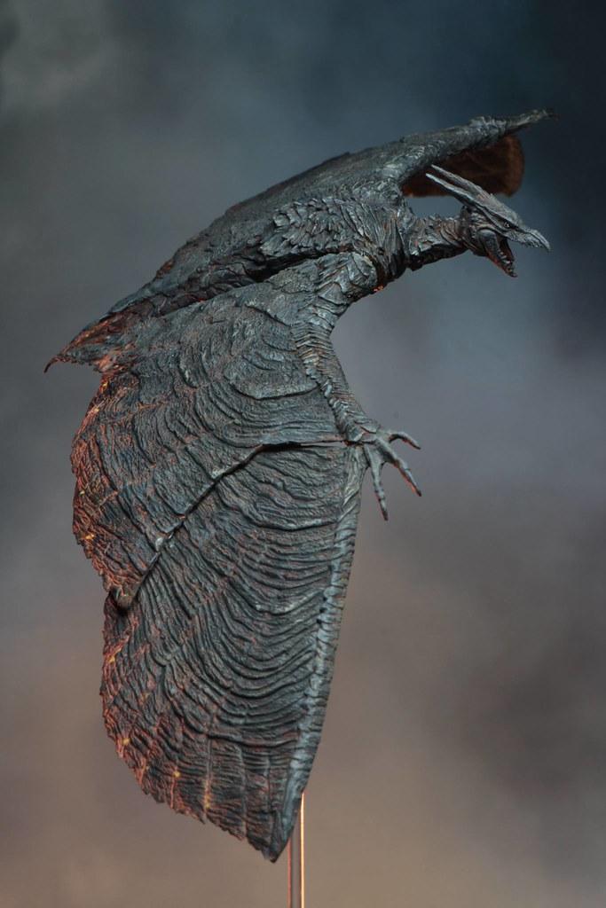 翱翔天際的空中大怪獸! NECA《哥吉拉II:怪獸之王》拉頓 (2019)  Rodan (2019) 7 吋可動作品