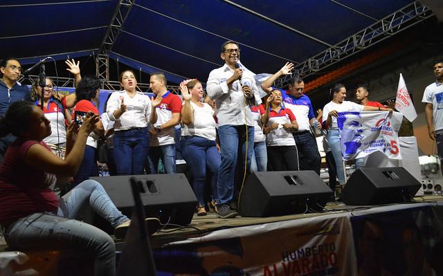 Recorrido elecciones 2019 (Humberto Alvarado)