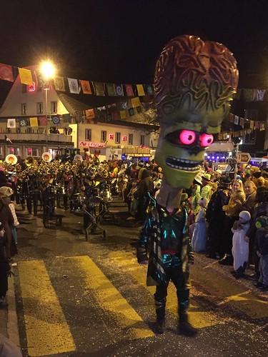 Fasnacht Carnival Fasching Hochdorf Switzerland