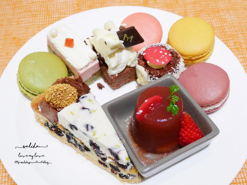 台北美麗華附近餐廳飯店下午茶吃到飽美福彩匯自助餐 (4)
