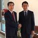 President Nakao, Republic of Korea officials discuss strengthening cooperation