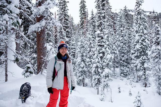Snowshoeing - Rawson Lake - Jan 2019-5