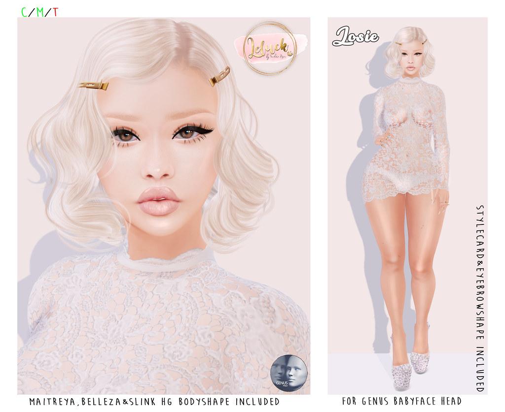 [LeLuck]Genus Babyface Shape Josie