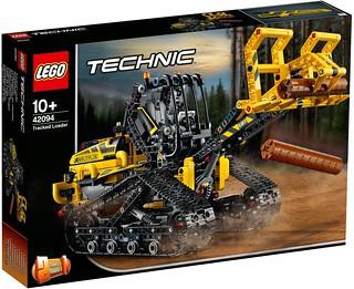 給你滿滿重機械的硬派浪漫~~ LEGO 42094 科技系列【履帶式裝載機】Tracked Loader