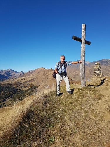 Geschafft !! - Auf dem Gipfel des Pizzo Rossetto (2097 m.ü.M.)
