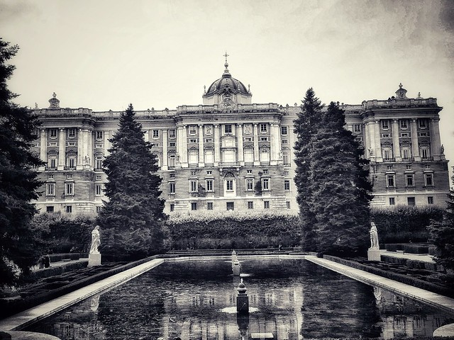 Royal Palace. Madrid. Spain.