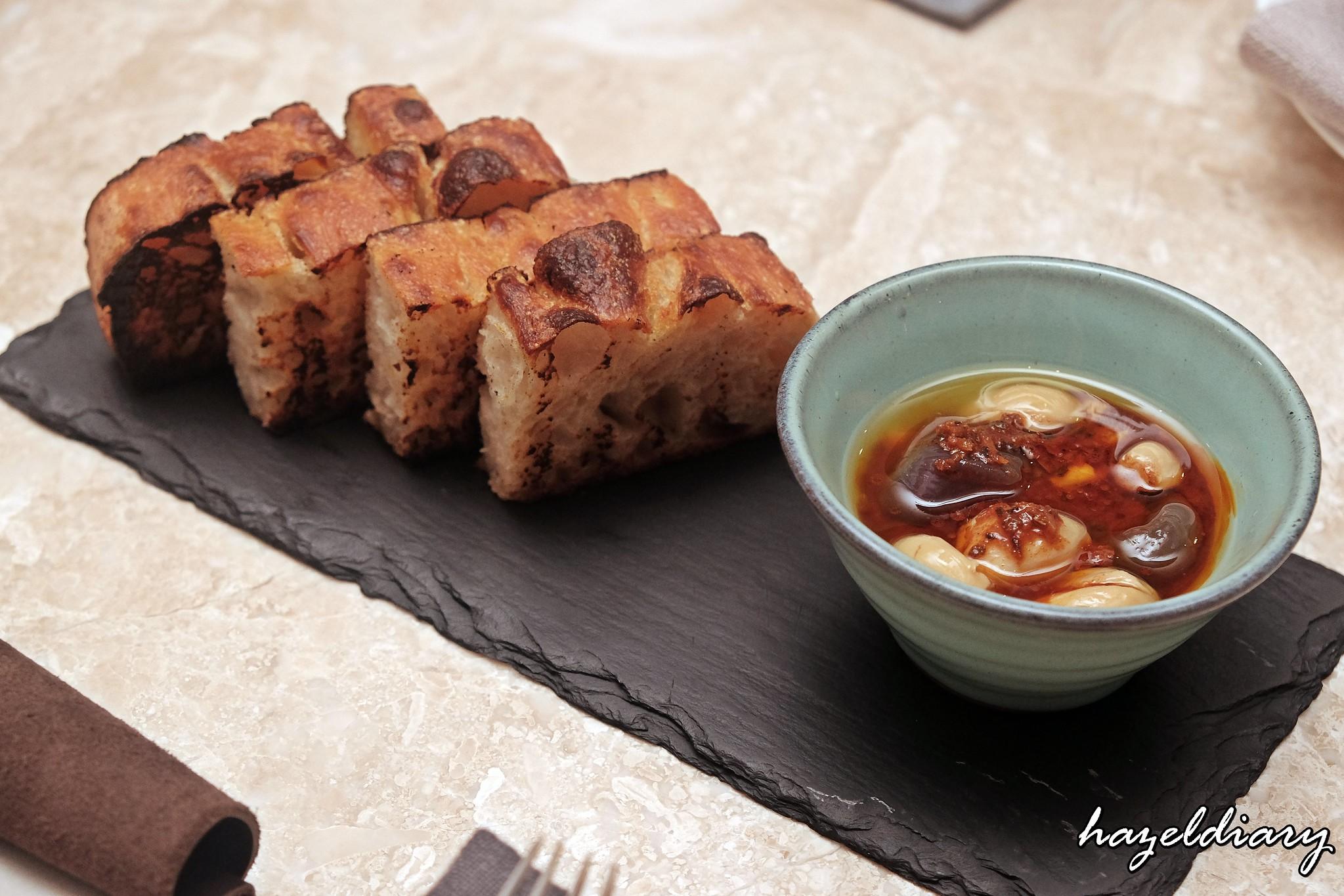 Kilo Kitchen Duxton Road-Pan grilled bread