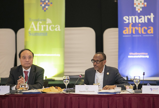 President Kagame chairs Smart Africa Board Meeting on the sidelines of the 32nd AU Summit  | Addis Ababa, 11February 2019