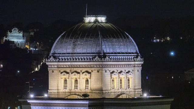 Acea illumina la Sinagoga di Roma