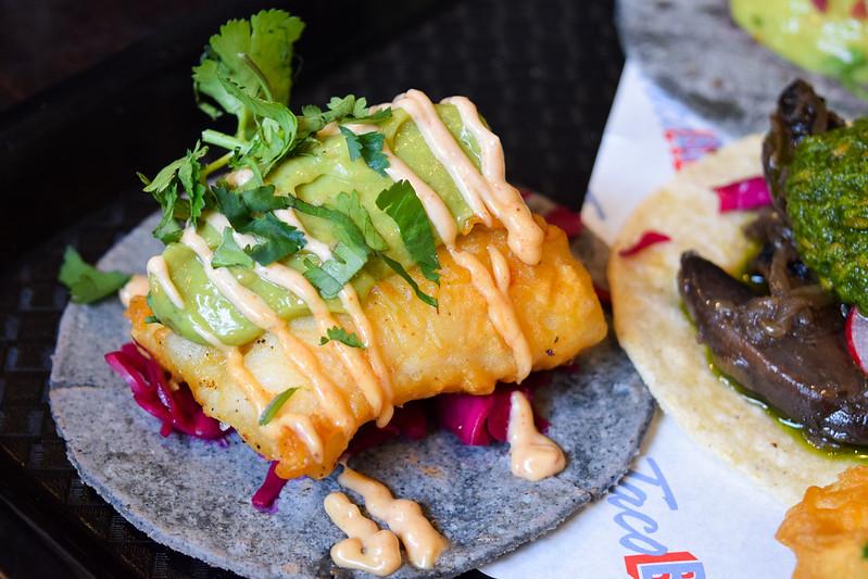 Baja Fish Taco at Taco Bill Pop Up at Alberrys, Canterbury
