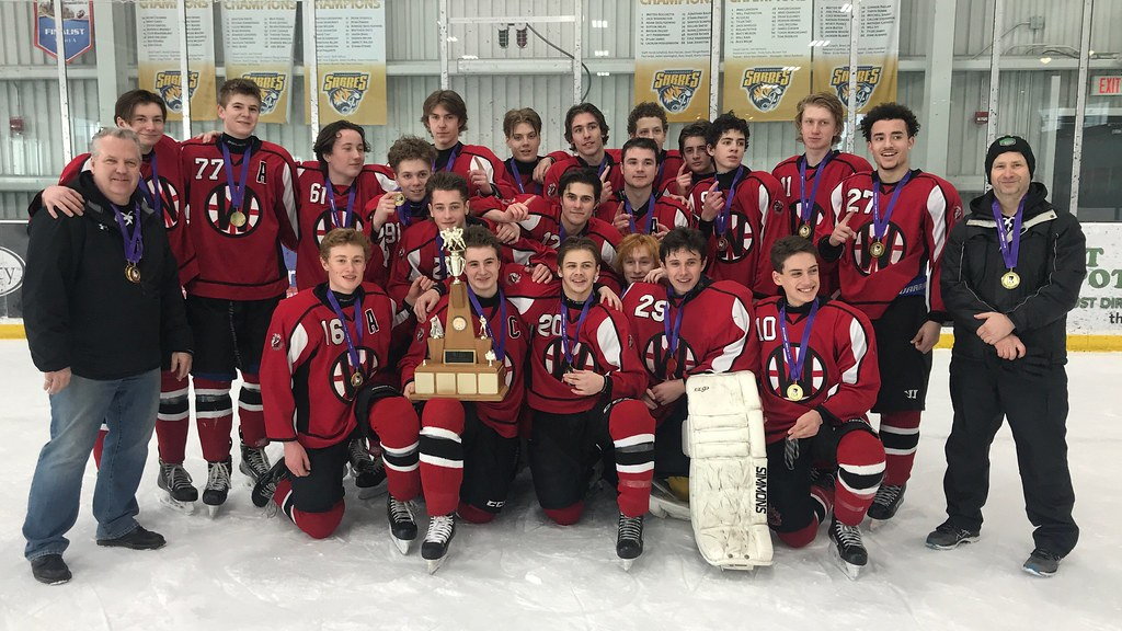 2018-19 HWIAC Boys Contact Hockey Champions