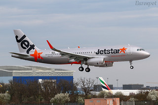 F-WWDK Airbus A320 Jetstar