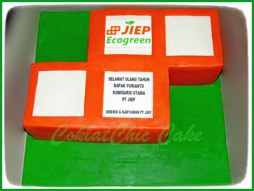 Cake Logo JIEP Bp YURIANTO 24 cm