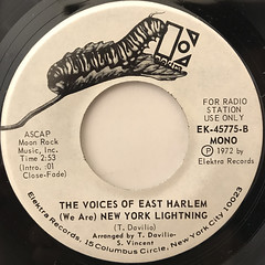 THE VOICES OF EAST HARLEM:ANGRY(LABEL SIDE-B)
