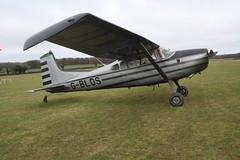 G-BLOS Cessna 185A [185-0359] Popham 010119