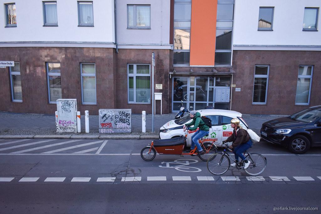 Берлин: новый вокзал, жильё в вагончиках и не только