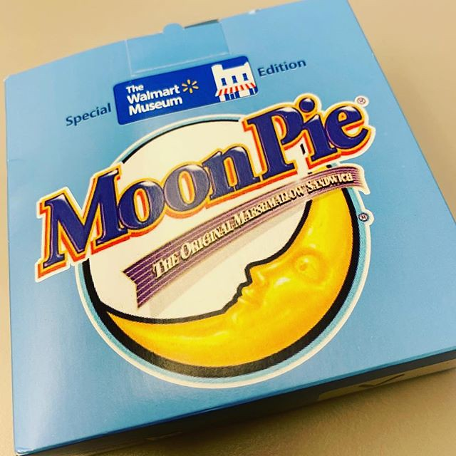 When your daughter visits #Bentonville Arkansas and brings you back a #moonpie