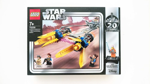 LEGO Star Wars Anakin's Podracer - 20th Anniversary Edition (75258)