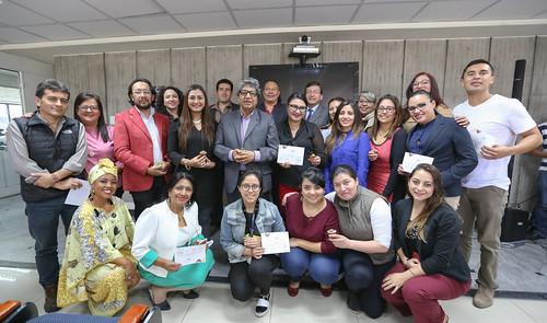 Premiación Voluntarios TODOS ABC II Fase - Quito