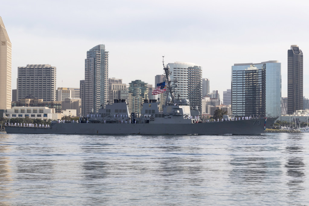 SAN DIEGO - The guided-missile destroyer USS Decatur (DDG 73) returned to San Diego April 1, following a deployment to the U.S. 7th Fleet and 5th Fleet areas of operation.