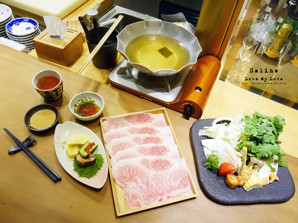 台北遠企附近餐廳利休日本料理壽司和牛火鍋推薦
