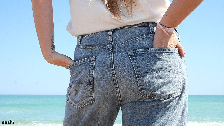 pantalones Armani de mujer