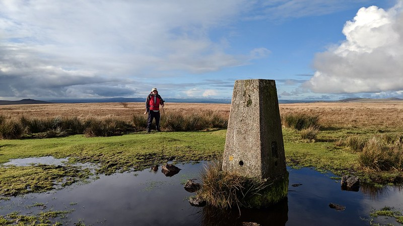 Cramber Ridge/Down Trig Point and PB