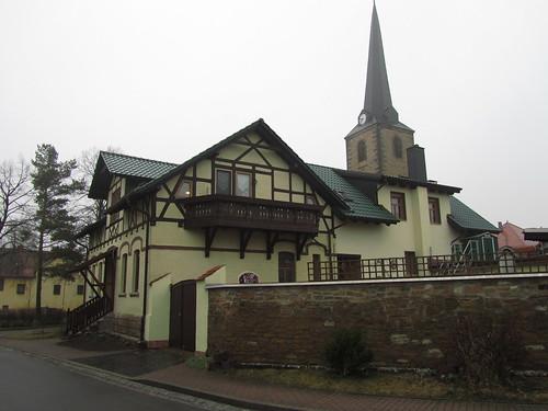 20100317 0204 010 Jakobus Rudersdorf Haus Kirche Turm